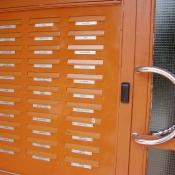 Poštové schránky - obojstranné 12